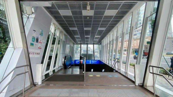 Selesai Diperbaiki, Stasiun MRT Setiabudi dan HI Kece Lagi