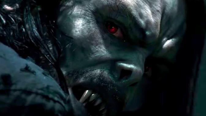 Film Morbius dalam trailer. (Sony Pictures)