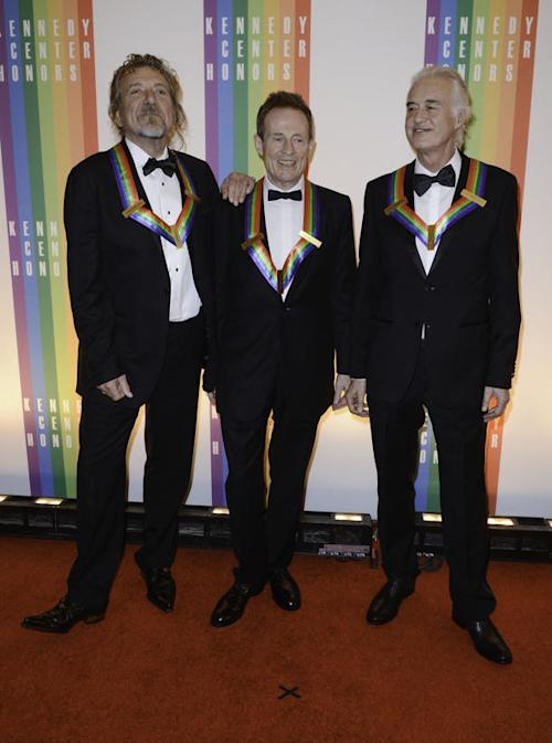 Former President Bill Clinton Unable to Spark Led Zeppelin Reunion