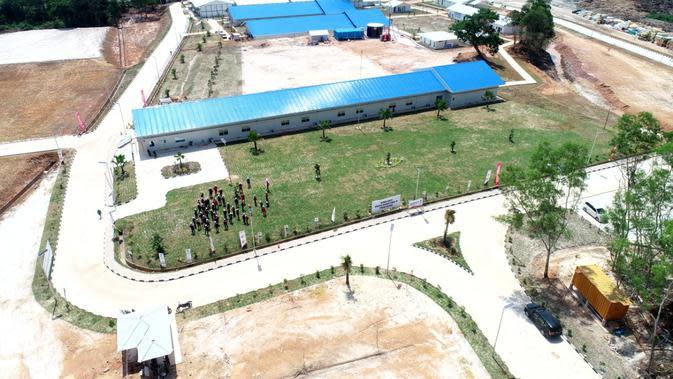Fasilitas observasi & karantina untuk pengendalian infeksi virus corona di Pulau Galang, Batam dibangun Waskita Karya