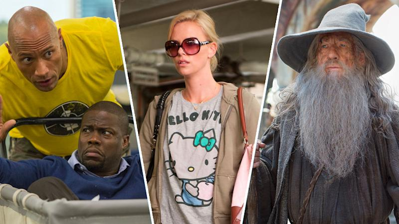 Central Intelligence, Young Adult, The Hobbit.