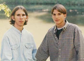 Surprise! Ashton Kutcher Has a Twin Brother