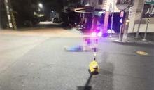 快新聞/男子不明原因倒地遭輾 20秒後又遭另車輾斃爆頭亡