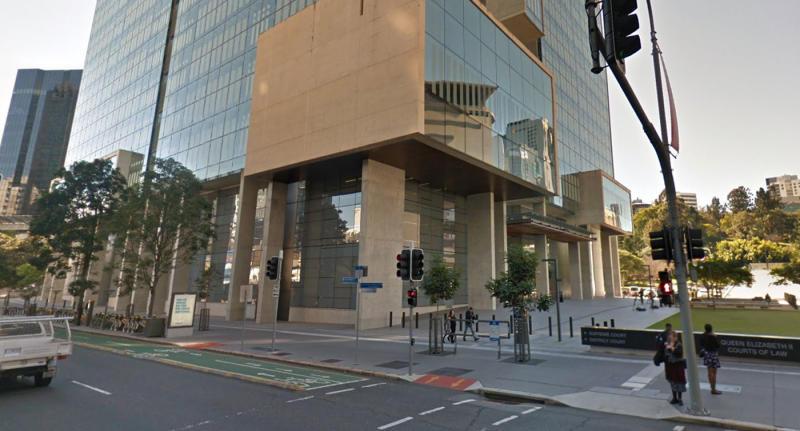 A Google street view of Brisbane Supreme Court.