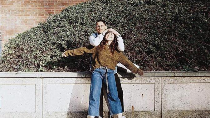 Potret Shaloom Razade dan kekasihnya yang jarang tersorot. (Sumber: Instagram/@sharazaaa)