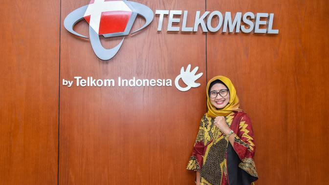 RUPST menunjuk Emma Sri Martini sebagai Direktur Utama Telkomsel. Liputan6.com/Ilyas Istianur P