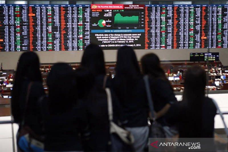 """Saham Filipina """"rebound"""", Indeks PSE naik 0,60 persen"""