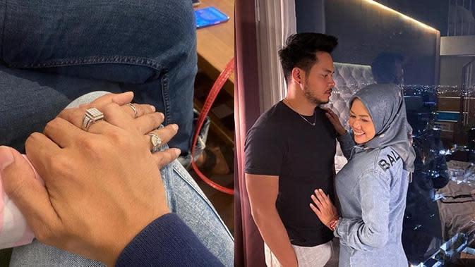 Elly Sugigi dan Kekasih Baru (Sumber: Instagram//ellysugigi_real_)