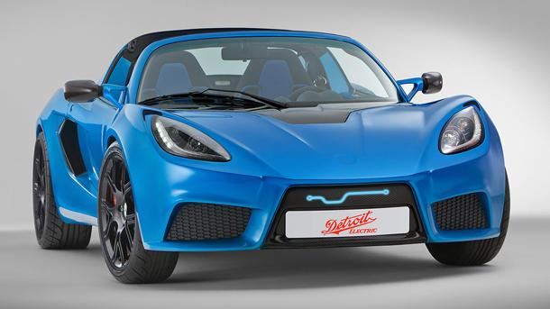 Detroit Electric reveals the SP:01, claiming the fastest electric sports car in the world