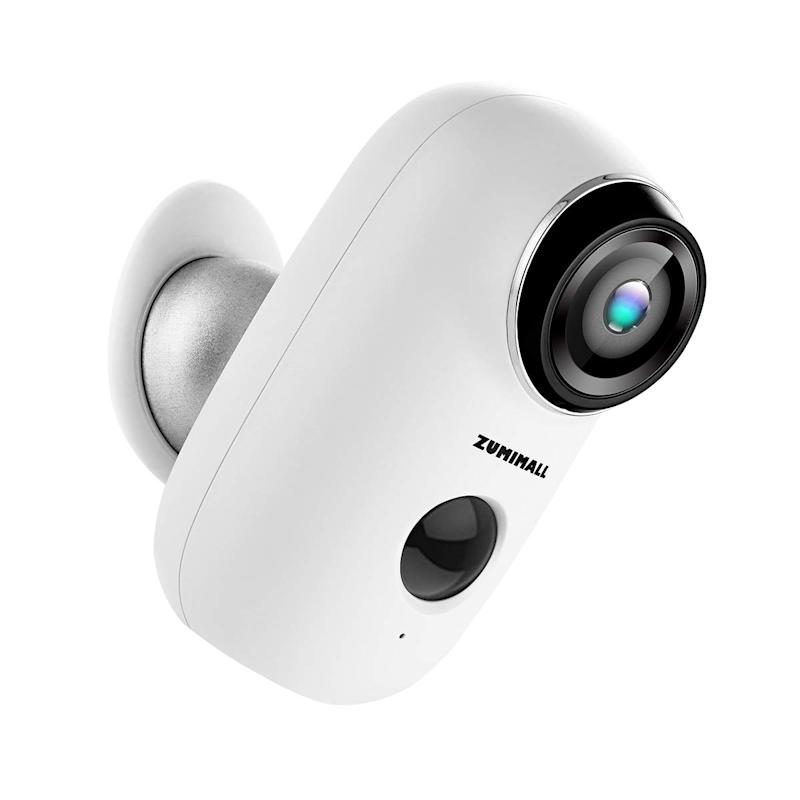 Wireless Rechargeable Battery Powered WiFi Camera. (Photo: Amazon)