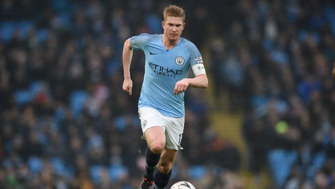 Kevin de Bruyne (Manchester City). (AFP/Oli Scarff)