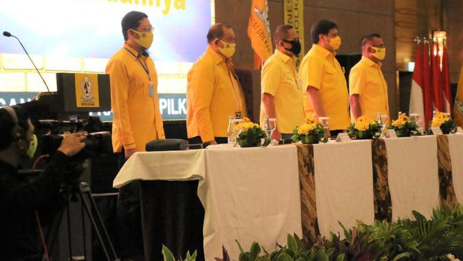 Partai Golkar mengusung 9 kadernya jadi bakal calon gubernur dan wakil gubernur di Pilkada serentak 2020. (Istimewa)