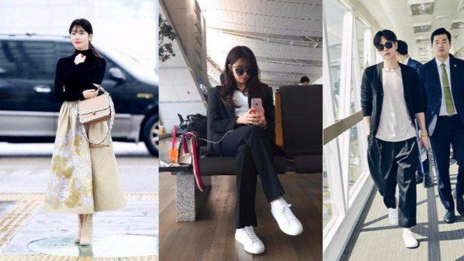 8 Style Ala Korea, Pakai Kaos Putih Dijamin Anti Gagal