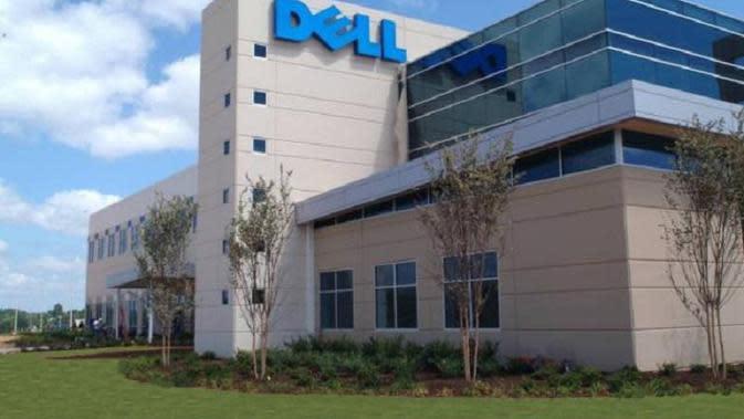 Perusahaan Dell (sumber : gadgetteaser.com)