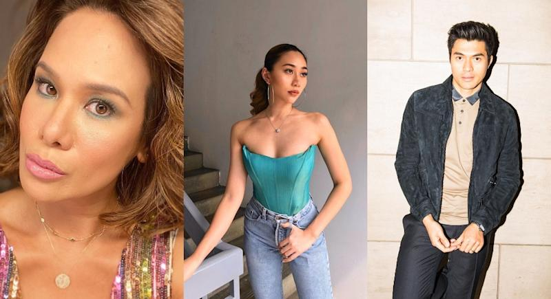 Elaine Daly, Alexis Sue Ann, and Henry Golding have weighed in on Samantha's remarks. Photo: Elaine Daly, Alexis Sue Ann, and Henry Golding / Instagram