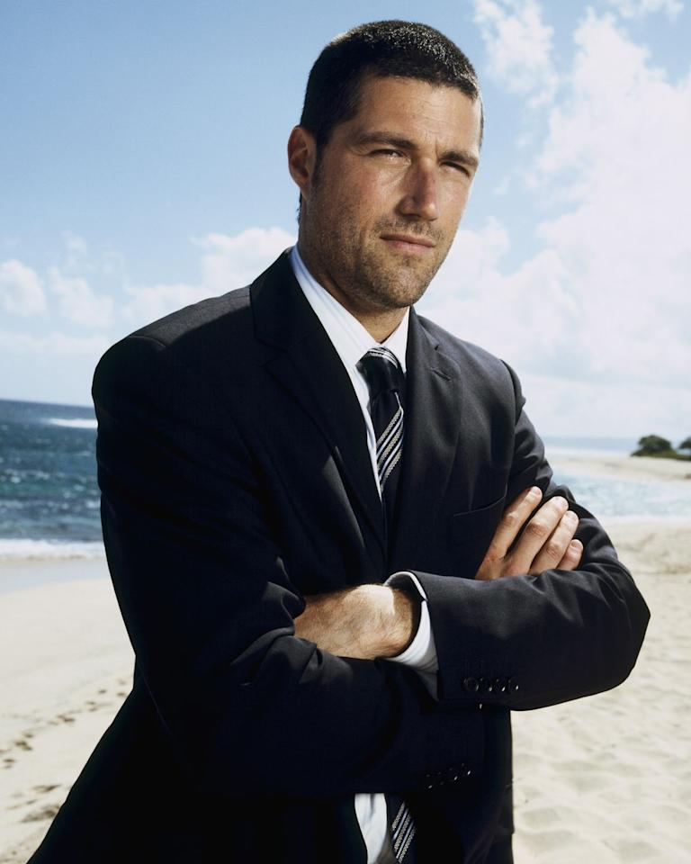 <p>He played Jack Shephard, a troubled surgeon who became one of the leaders of the survivors on the island.</p>