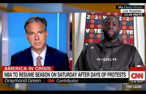 Draymond Green Joins CNN as Contributor