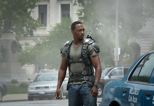 Set Visit: Anthony Mackie brings laughs and high-flying action to 'Captain America'