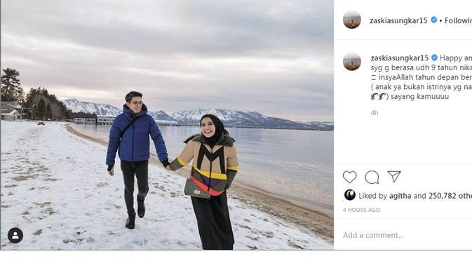 Zaskia Sungkar (Foto: Instagram/@zaskiasungkar15)