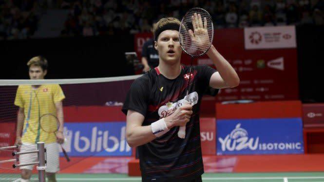 Raih Kemenangan Kilat, Antonsen ke Perempat Final Denmark Open 2020