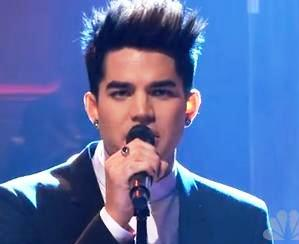 Adam Lambert Debuts New Single, Look, Band Lineup on 'Leno'