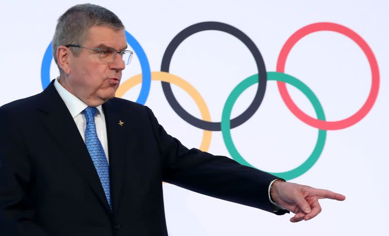 IOC not discussing cancellation or postponement of Tokyo 2020: Bach