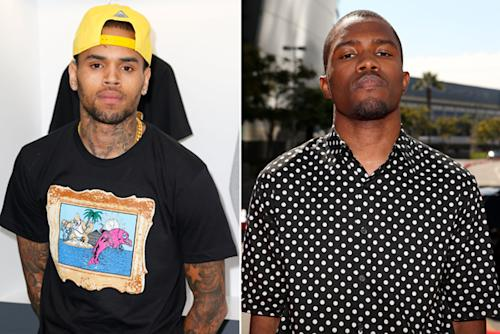 Chris Brown and Frank Ocean Investigated for Parking Lot Brawl