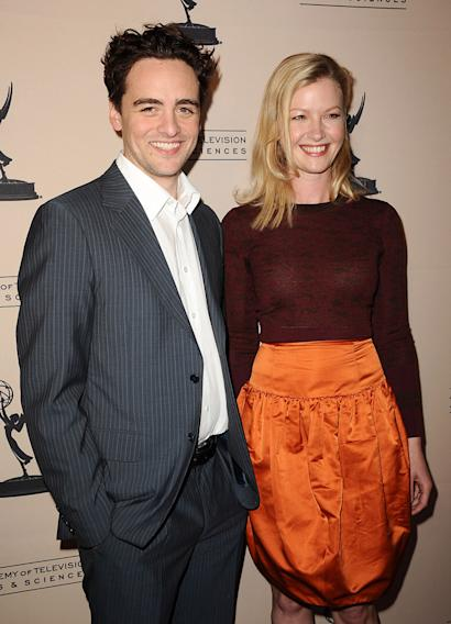 Vincent Piazza and Gretchen Mol