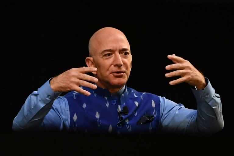 Amazon founder Jeff Bezos owns The Washington Post, where murdered journalist Jamal Khashoggi was a contributing columnist