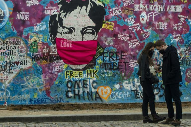 Art has kept us sane, says Prague coronavirus exhibition curator