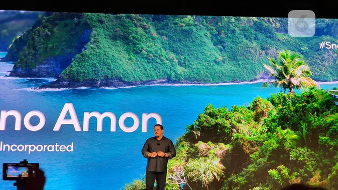 President Qualcomm Inc., Cristiano Amon, saat pembukaan Qualcomm Snapdragon Tech Summit di Maui, Amerika Serikat, Selasa (4/12/2019). (Liputan6.com/ Agustin Setyo W)