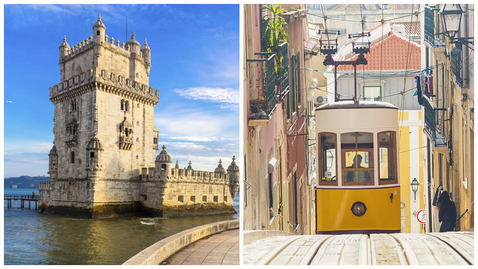 Former rugby league player turned model, Kris Smith, recently visited the capital Lisbon and compiled this list of must-do activities. Photo: Getty