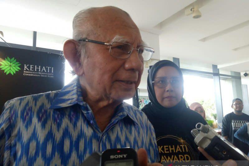 Emil Salim: Kegiatan ekonomi jangan merusak keanekargaman hayati