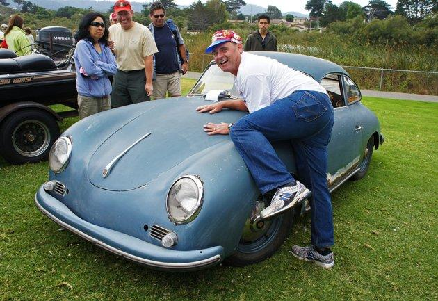 Rare Porsche shines at Concours d'LeMons, an auto show for clunkers