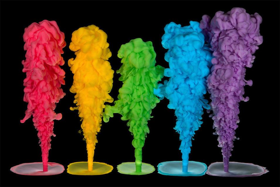 Rainbow Plumes