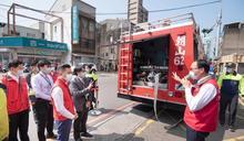竹市醫療院所整備停水應變 市府支援送水 林智堅視察