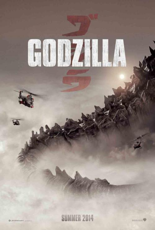 'Godzilla' Shows Off Some Tail in New Poster