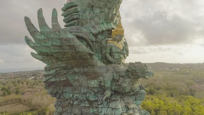 Berikut keindahan patung Garuda Wisnu Kencana yang menjadi simbol Indonesia semakin dikenal dunia. (Foto: Dok. PT. SNN)