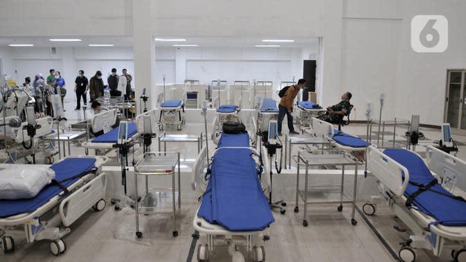 Pasien Rawat Inap Terkait Corona Covid-19 di Wisma Atlet Jadi 1.177 Orang