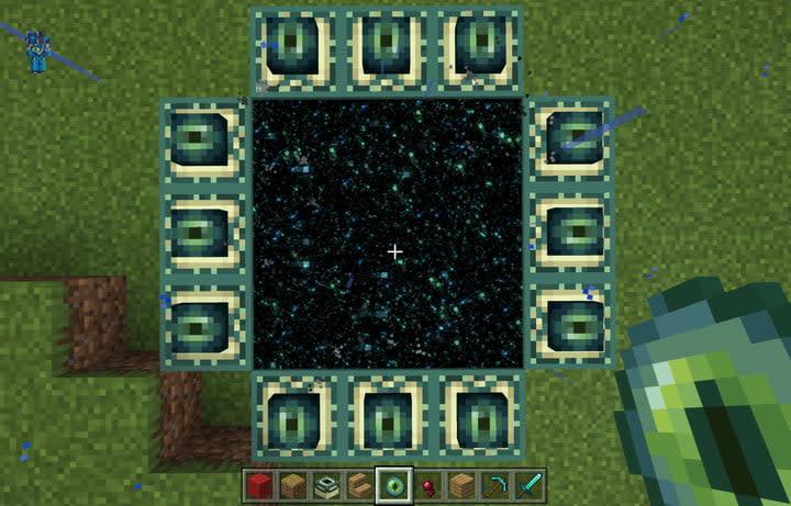Minecraft Working End Portal