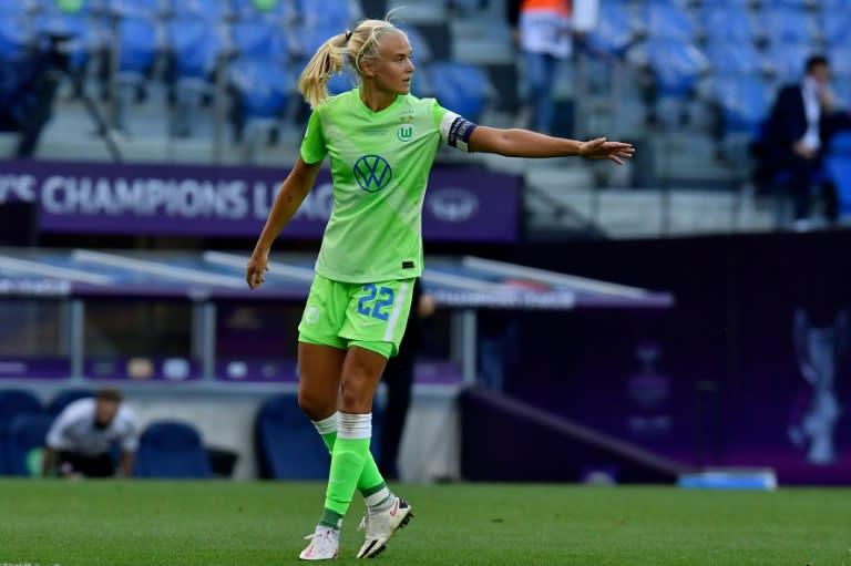Denmark's Pernille Harder named UEFA women's player of the year