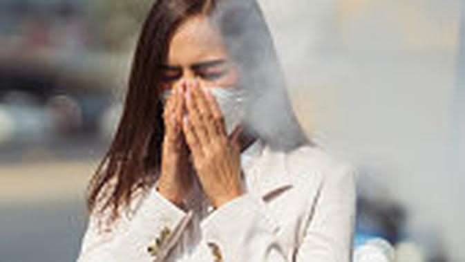 Ilustrasi polusi udara. (iStockphoto)