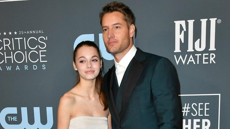 The 'This Is Us' star's 15-year-old daughter gushed to ET about attending the event with her dad.