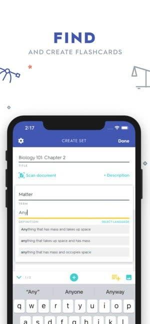 best educational apps quizlet 1