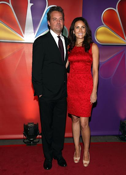 Matthew Perry and Laura Benanti
