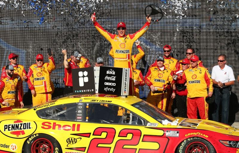Logano finds new purpose during break in racing