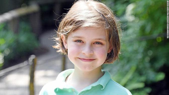 Laurent Simons, bocah jenius usia 9 tahun. (Source: CNN)