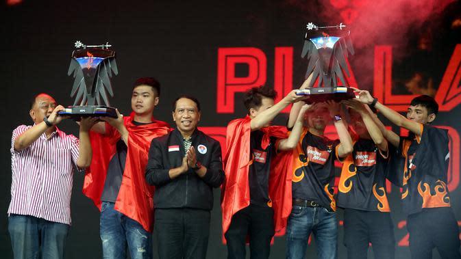 Juarai Piala Presiden Esports 2020, Tim Flash Kantongi Uang Hadiah Rp 300 Juta