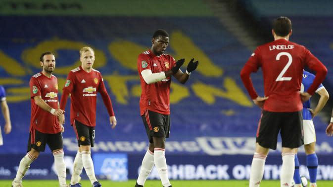 Carabao Cup: Akhirnya Paul Pogba Bisa Cetak Gol Tendangan Bebas, Pertama di Manchester United