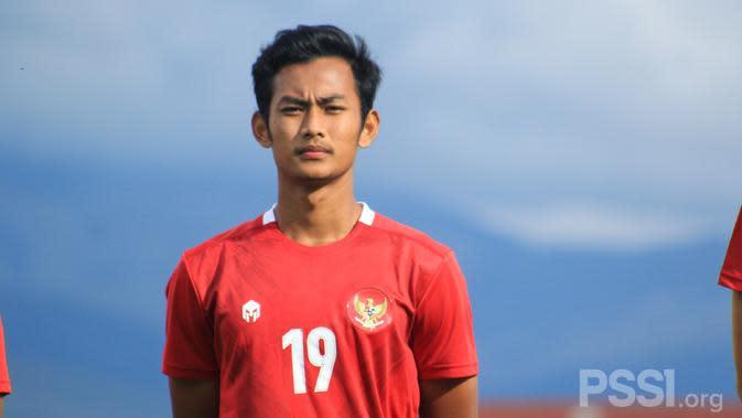 Gelandang Timnas Indonesia U-19, Mohammad Kanu. (Foto: PSSI)